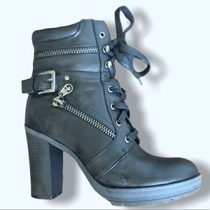 G by Guess Combat Boots 7M